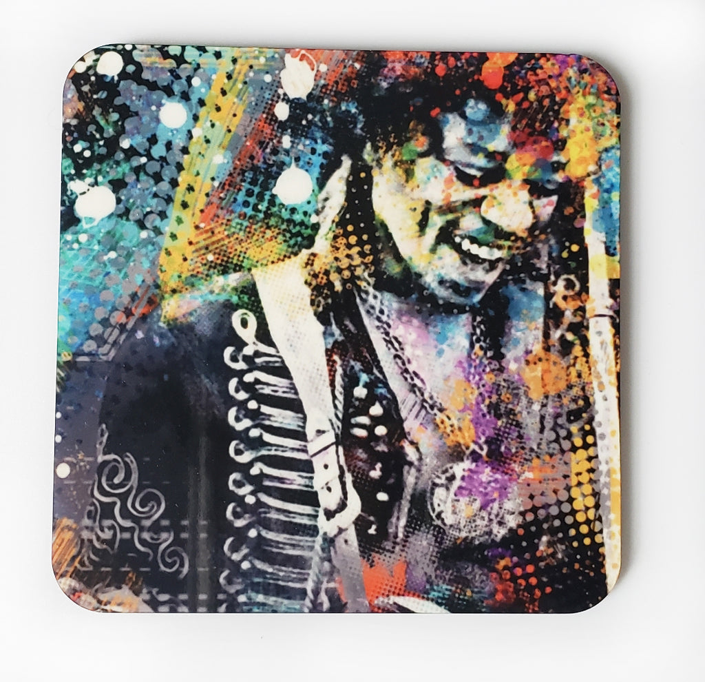 JIMMY HENDRIX COASTER - STUDIO ART STREET