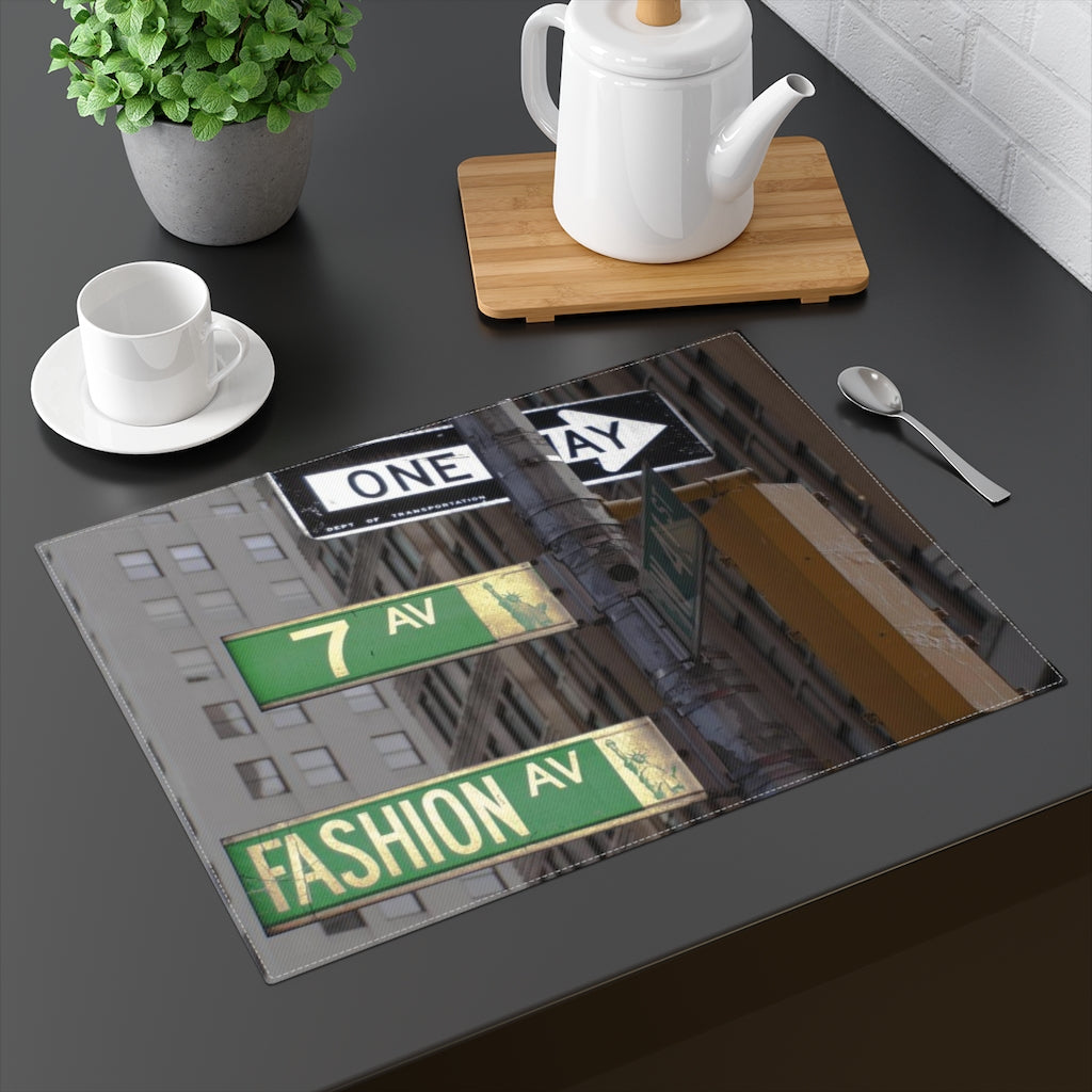 FASHION.AVE© ARTSY Placemat - STUDIO ART STREET