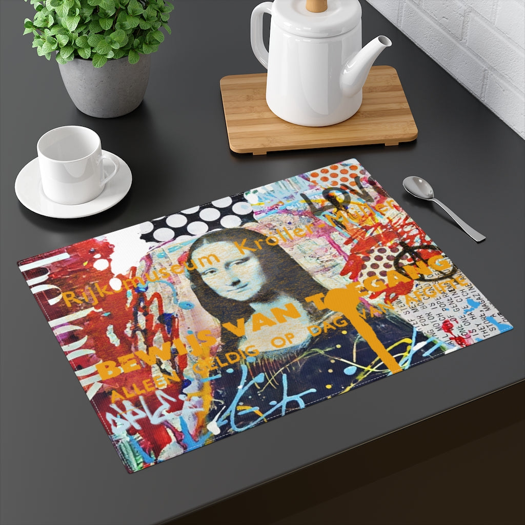 MONA LISA© Placemat - STUDIO ART STREET