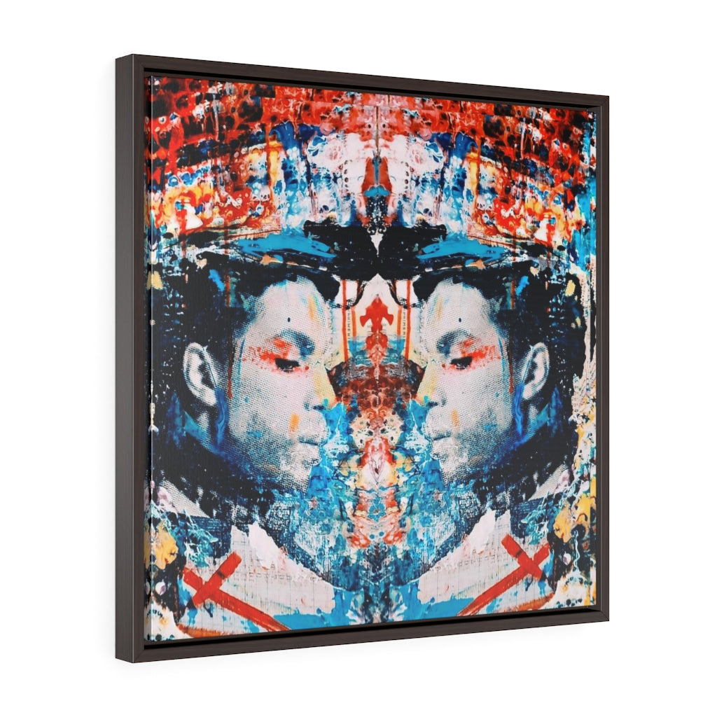 THE PRINCE- Square Framed Premium Gallery Wrap Canvas