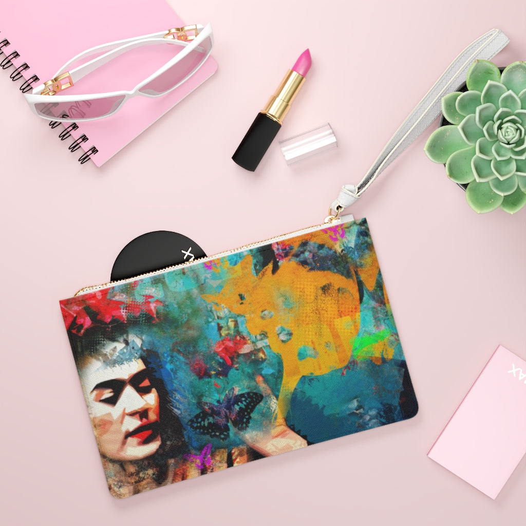 FRIDA© Clutch Bag