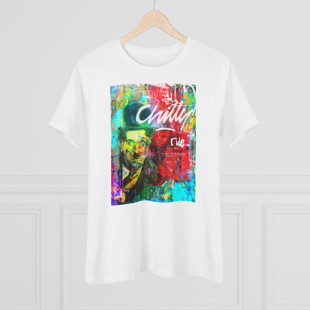 CHILLY RIDE© Women's Premium Tee - STUDIO ART STREET