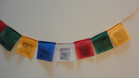 Gu-Chu-Sum Lucky Signs Small Cloth Prayer Flags