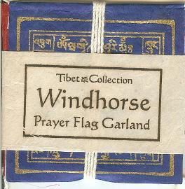 Mini Garland Windhorse Eco-Paper Prayer Flags