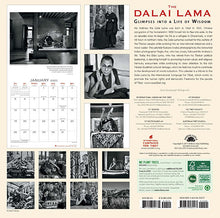 Load image into Gallery viewer, ICT's 2020 Wall Calendar: Dalai Lama: Glimpses into a Life of Wisdom