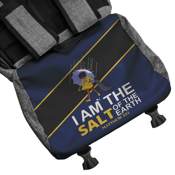 JF I am the Salt of the Earth Official RFID Blocking Back Pack