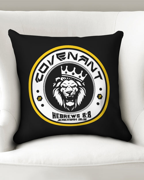 "JF Covenant Hoodie Throw Pillow Case 18""x18"""