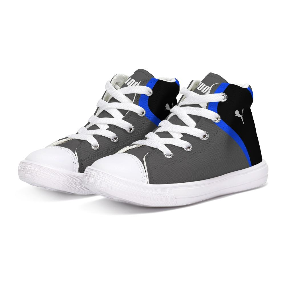 Judah Sports #12 Converse Style (Kids-Grey)