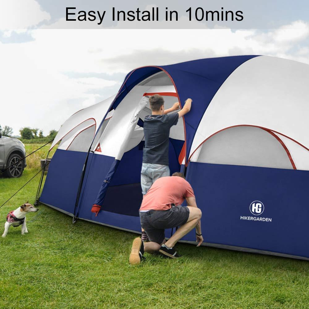 8 Person Tent - Luxury Edition