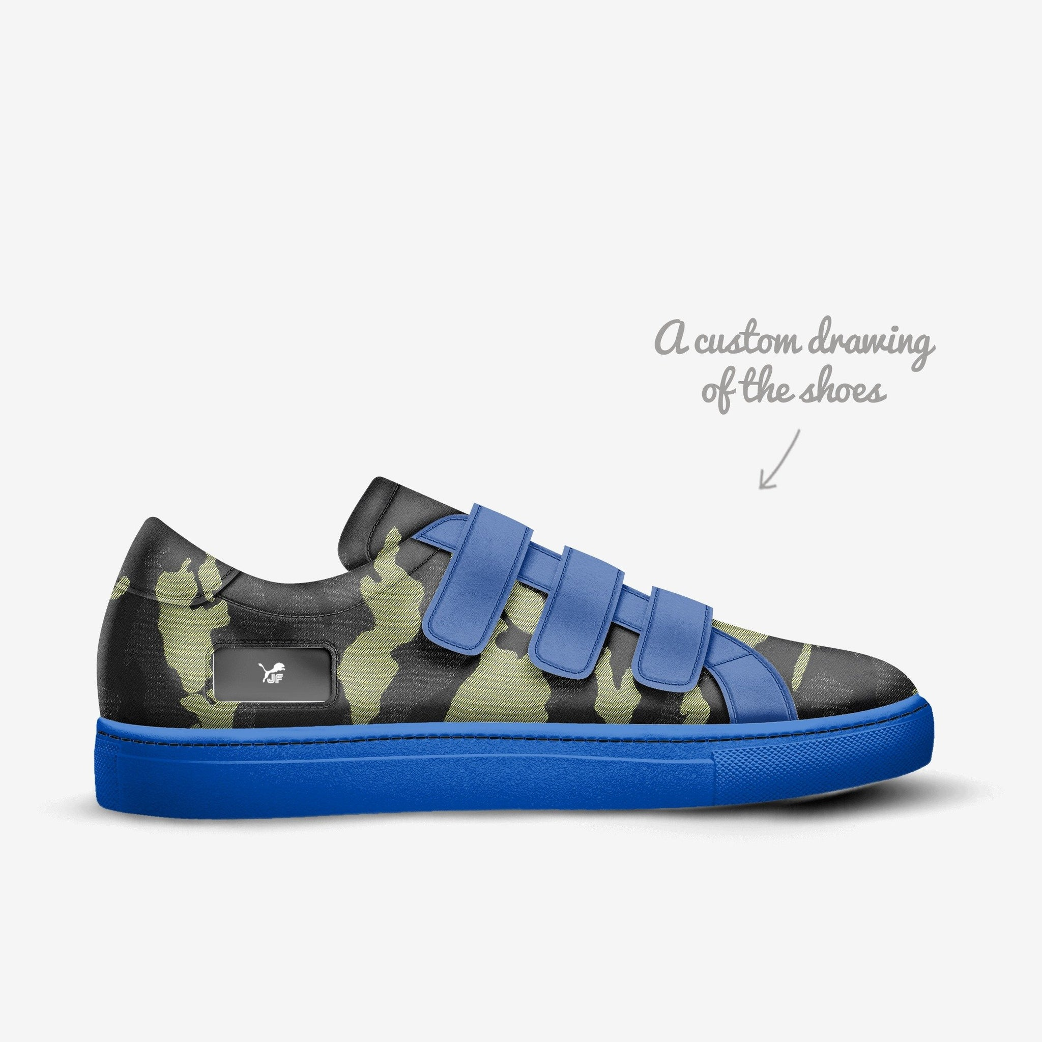 JF B813 (Soft Leather) Luxury Sneakers