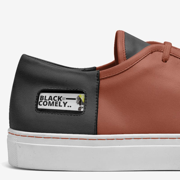 JF Black but Comely Low Top Sneakers