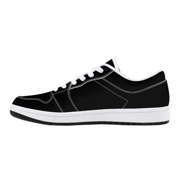 JF15 Low-Top Leather Sneakers