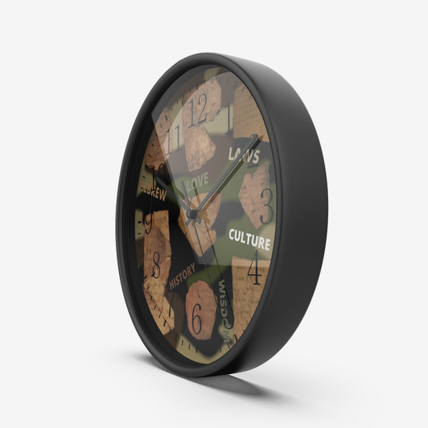 JF Silent Non Ticking Quality Quartz Wall Clock