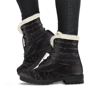JF F2B Winter Boots with Fur