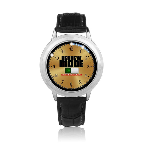 JF Signature Hebrew Mode Watch