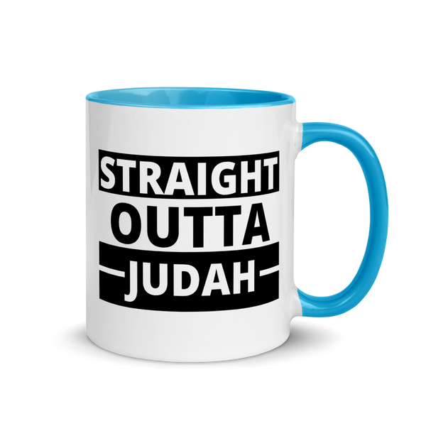 Straight Outta Judah Mug with Color Inside