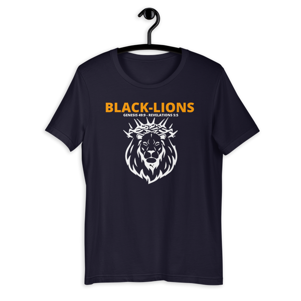 Black Lions Short-Sleeve Unisex T-Shirt