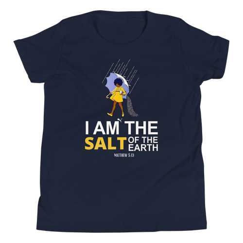 Youth I AM the Salt of the Earth Short Sleeve T-Shirt