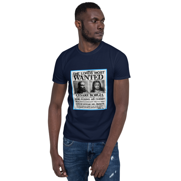 JF Wanted Cesare Borgia T-shirt