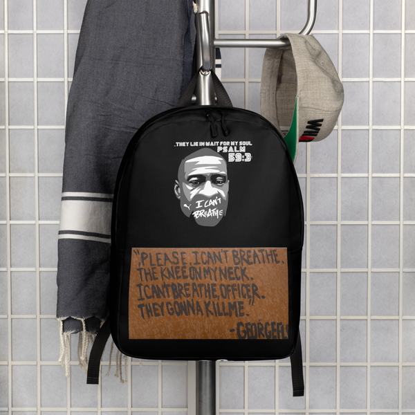 JF Signature #Icantbreathe BookBag
