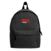 Judah Footwear Embroidered Backpack