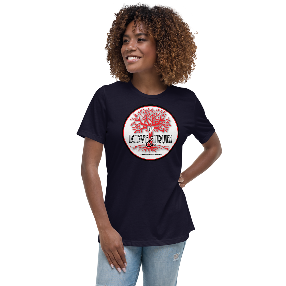 JF Women's Relaxed Love&Truth T-Shirt