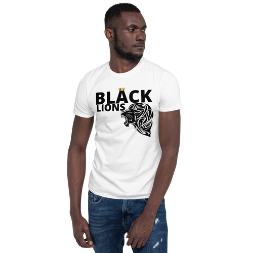 Black-Lions Short-Sleeve Unisex T-Shirt