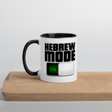 JF HebrewMode Mug with Color Inside