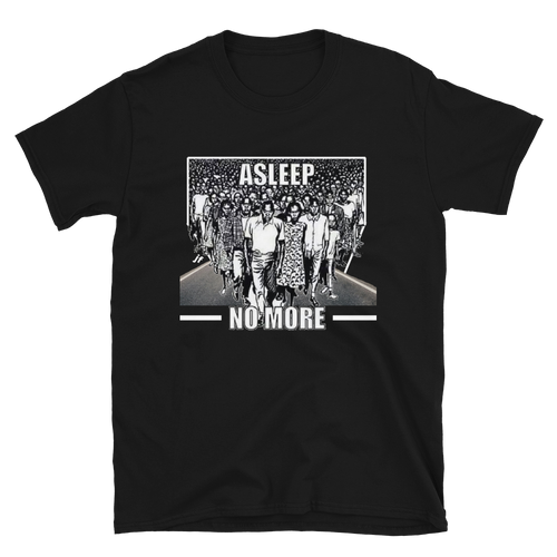 JF Asleep No More OFficial Unisex T-Shirt