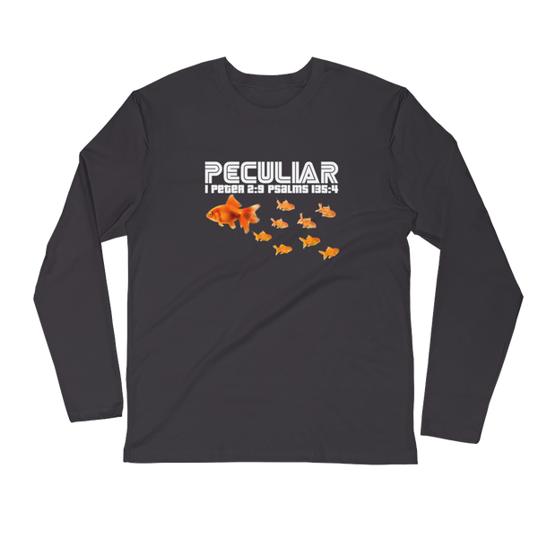 JF Long Sleeve Peculiar Fitted Crew Shirt