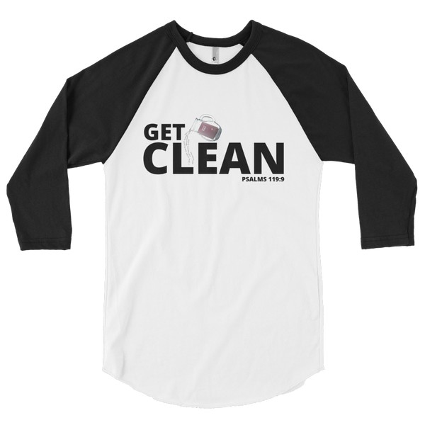 JF Get Clean Baseball Edition Shirt