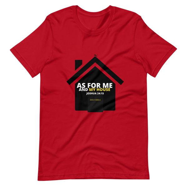 JF As For Me and My House Short-Sleeve T-Shirt