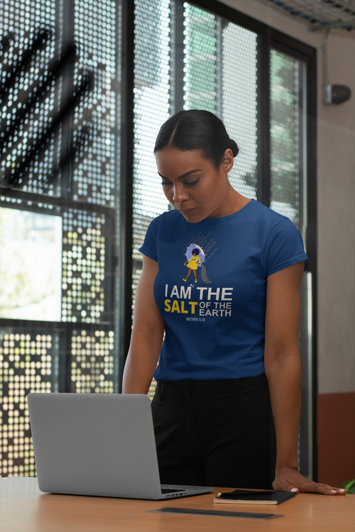 JF I am the Salt T-shirt (Blue)