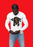JF Black Messiah Long Sleeve Fitted Crew