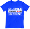 JF Silence against Sin is Consent (T-shirt)