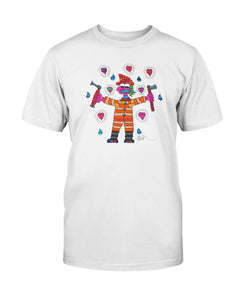 Lady Firefighter Hero T