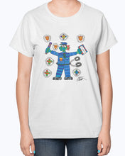 Load image into Gallery viewer, Policeman Hero Ladies T