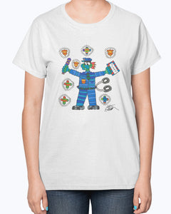 Policeman Hero Ladies T