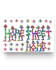 "Home Sweet Home 17' x 11"" Poster"