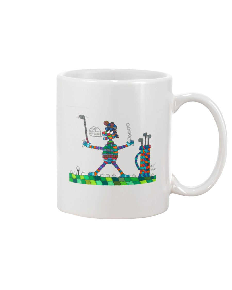 Golfer Friend 11 oz. Coffee Mug