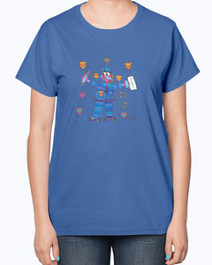 Policewoman Hero Ladies T