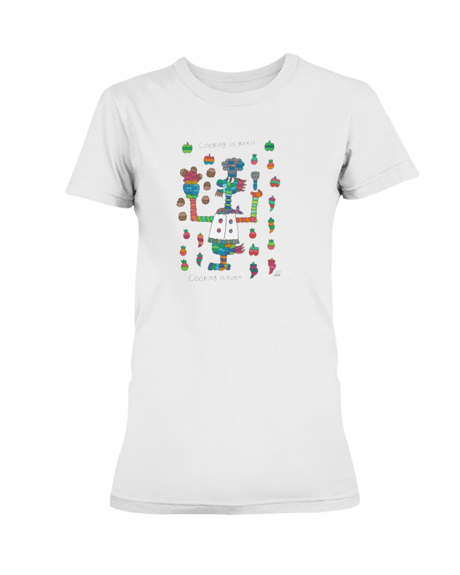 Chef Friend Ladies T