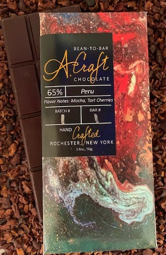 Peru 65% Single Origin Bar, 1.8oz