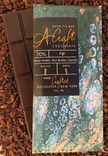 Fiji 70% Single Origin Bar, 1.8oz