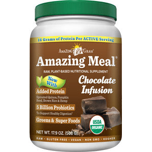 Amazing Meal Vegan Chocolate Protein Powder