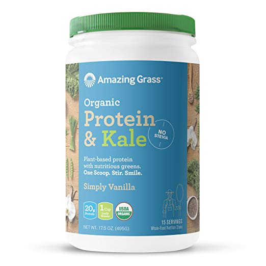 Protein & Kale Simply Vanilla by Amazing Grass