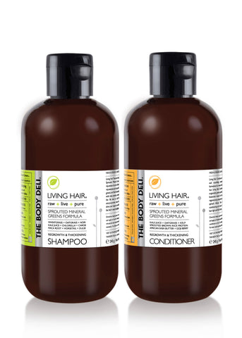 LIVING HAIR - SET (8 oz.)