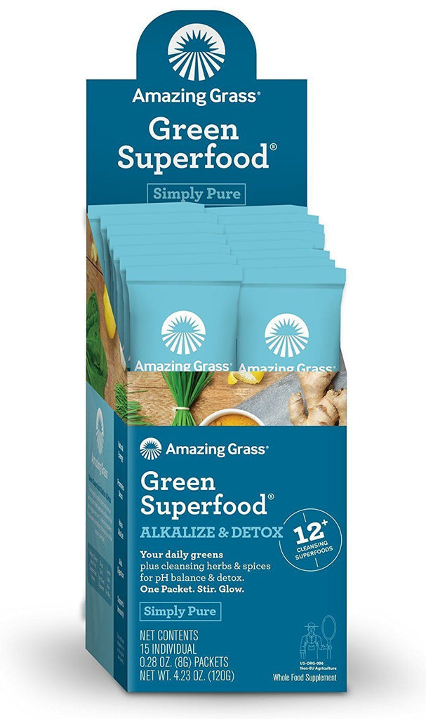 Green Superfood Alkalize & Detox Single Packet