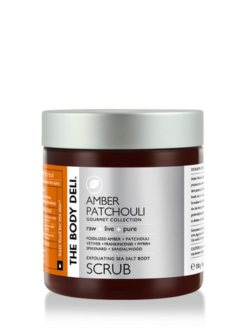 Amber Patchouli Body Scrub
