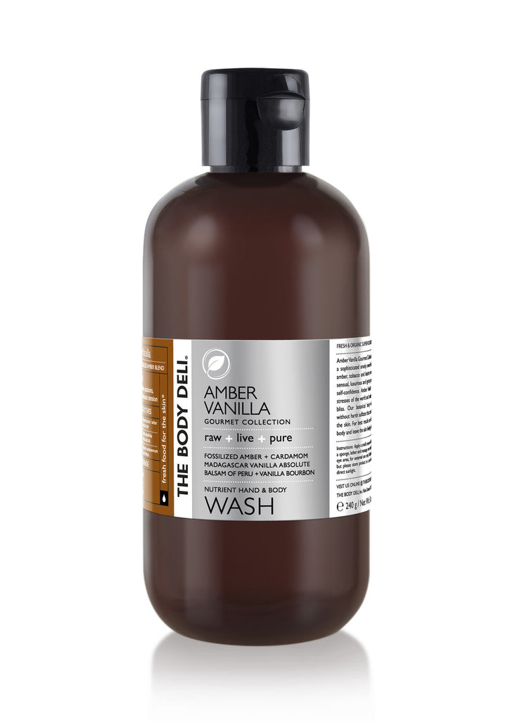 Amber Vanilla Hand & Body Wash